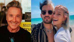 Ricardo Montaner celebra el compromiso entre Ricky y Stefi Roitman