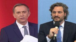 Santiago Cafiero y Marcelo Bonelli se cruzaron anoche en A dos voces