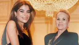 Zulemita Menem muy dolida por la muerte de Elsa Serrano