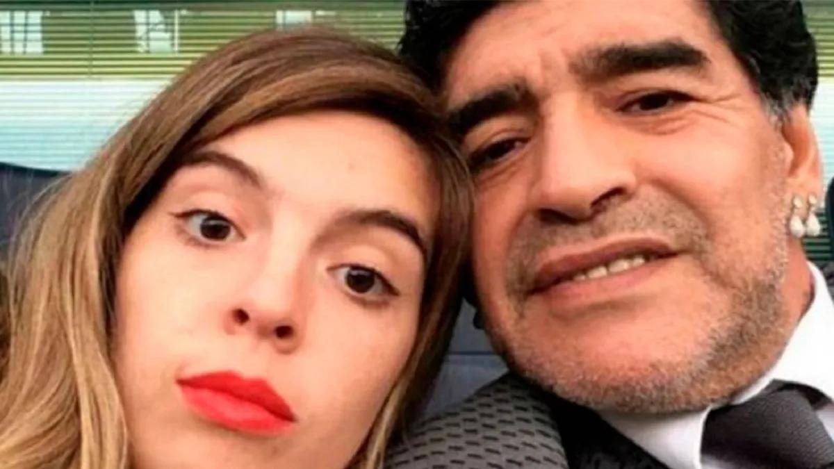 Dalma Maradona enojada