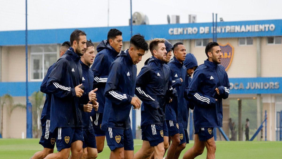 Luis Vázquez quedó fuera de la alineación de Boca Juniors tras dar positivo por Covid 19