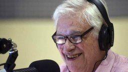 Hoy 13 de noviembre, Héctor Larrea anunció su retiro de la radio