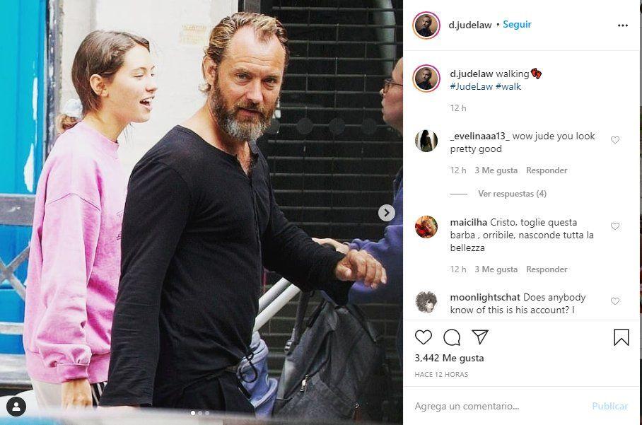El actor Jude Law es uno de los hombres más atractivos del mundo
