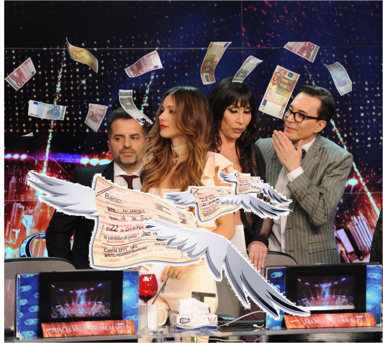 Los cheques del jurado volvieron rebotados: Moria, Polino, Pampita y De Brito siguen sin cobrar