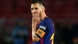 Lionel Messi estalló en el aeropuerto El Prat de Barcelona