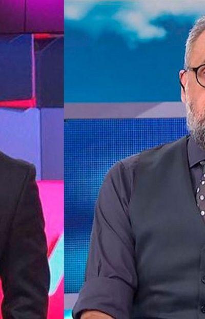 Los periodistas de espectáculos, Ángel de Brito y Jorge Rial
