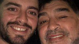 Diego Junior hizo un importante pedido antes de que muriera su papá