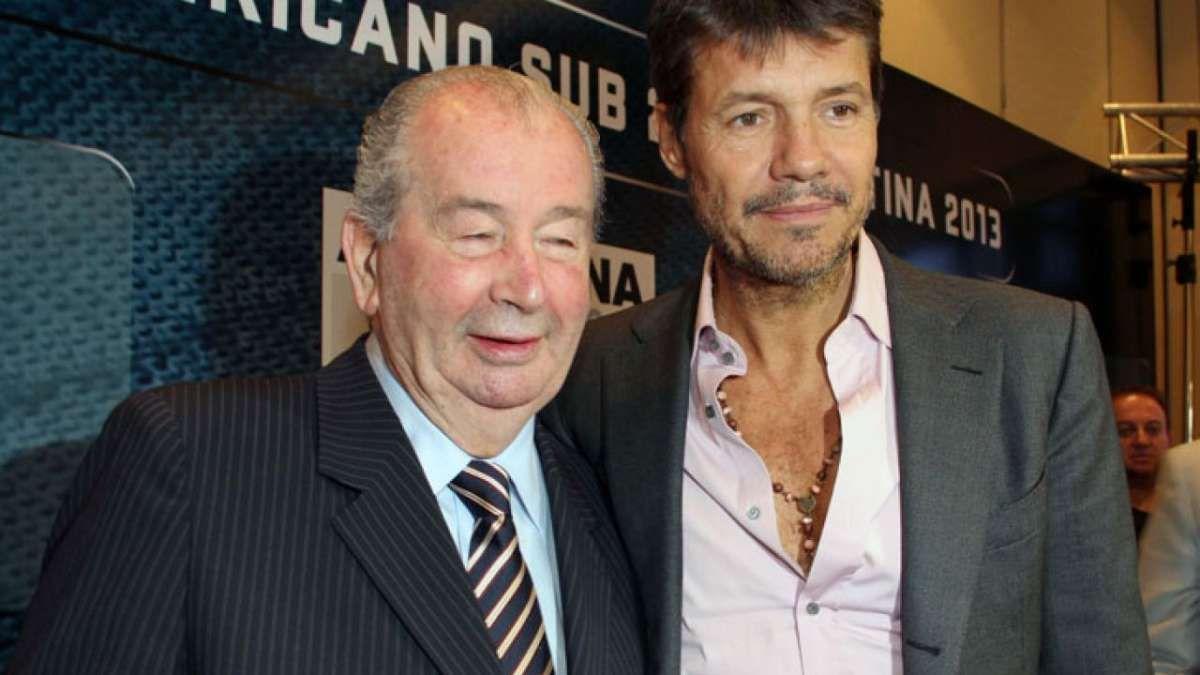 Las escuchas de Marcelo Tinelli con Julio Grondona acordando beneficios para San Lorenzo