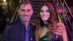 Diego Latorre junto a su hija, Lola
