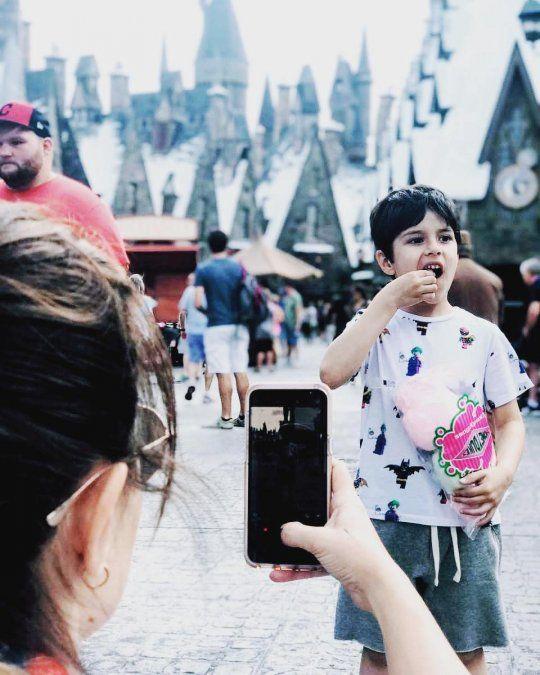 Las vacaciones en Disney de Maju Lozano, su hijo y su ex