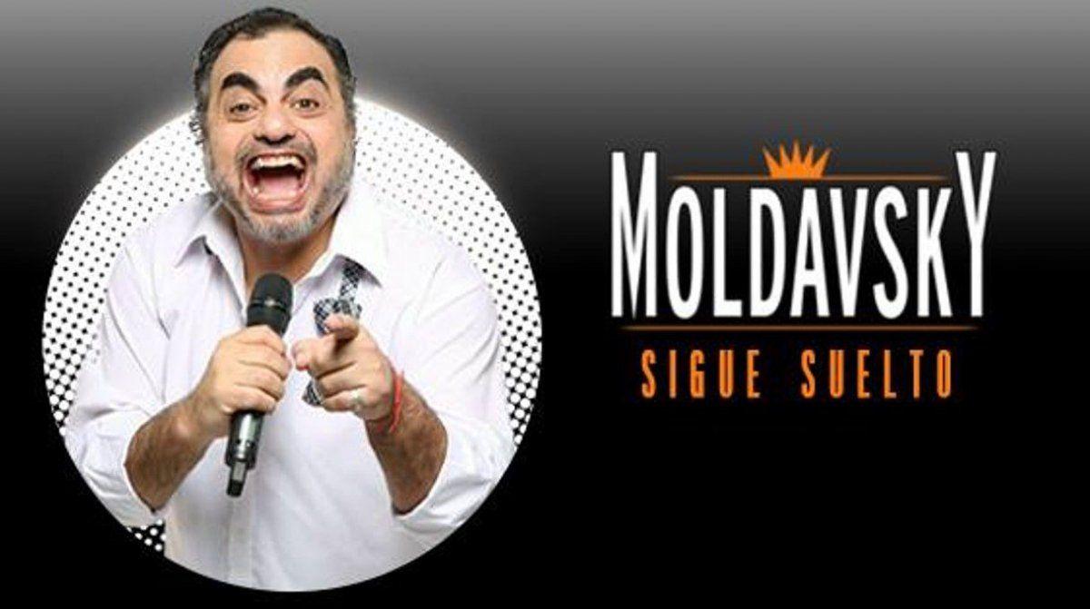 Por segunda semana consecutiva, Roberto Moldavsky lideró la taquilla teatral