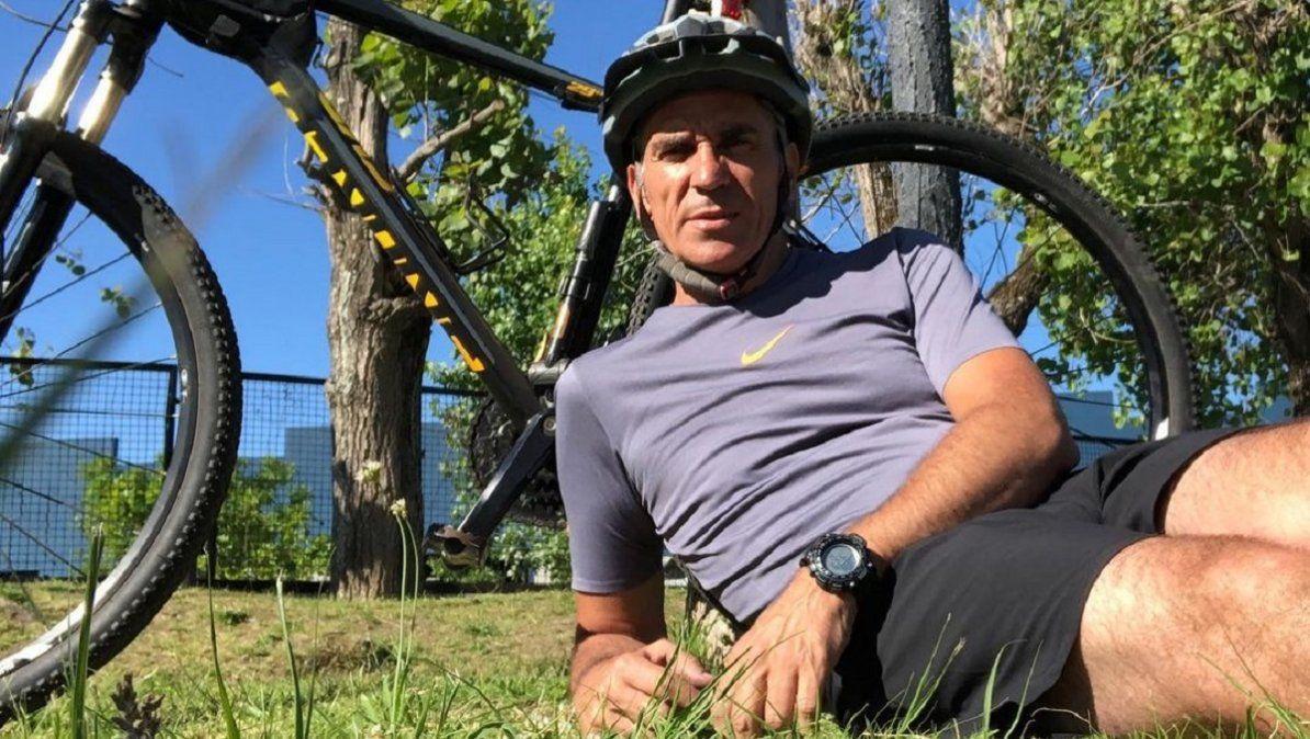 Adrián Puente sufrió un accidente cerebrovascular y el ejercicio lo ayudó a cambiar de vida