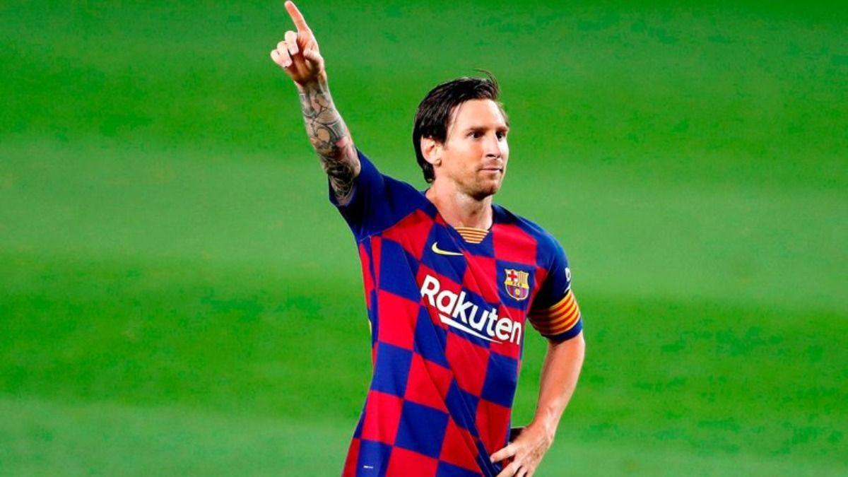 Lionel Messi es el actual capitán del Barcelona