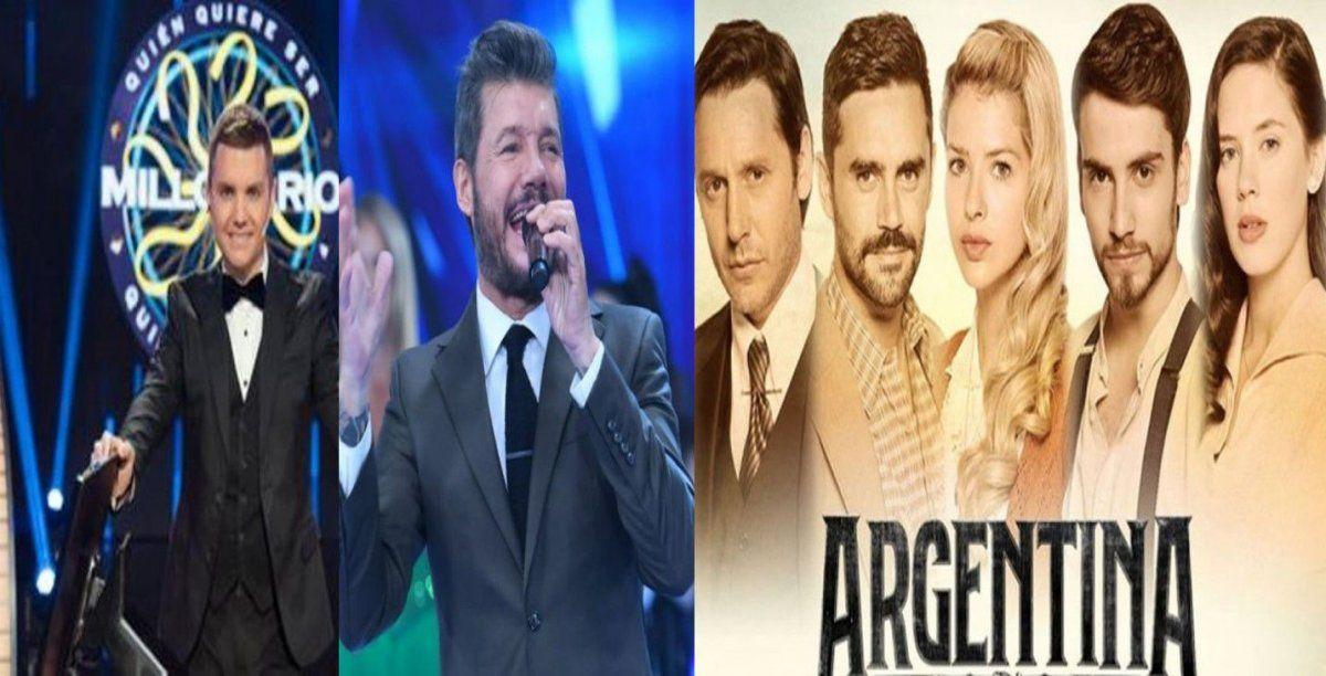 Los ratings del jueves 18: ATAV, Showmatch y Del Moro en el podio