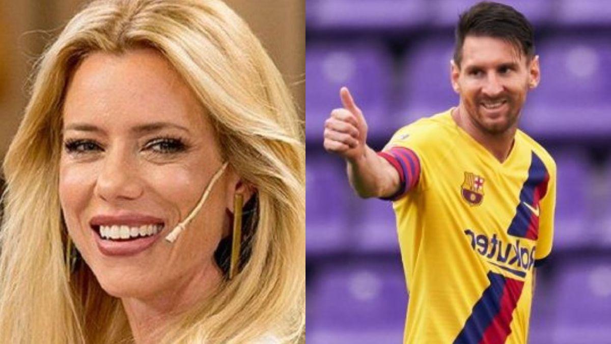 Le voy a escribir: Nicole Neumann pícara al recordar un comentario de Lionel Messi sobre ella