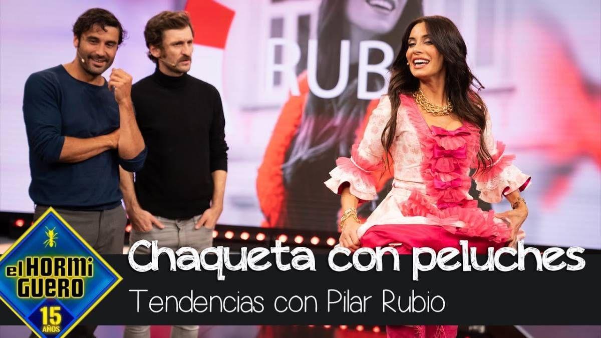 Pilar Rubio no deja de sorprender en El Hormiguero