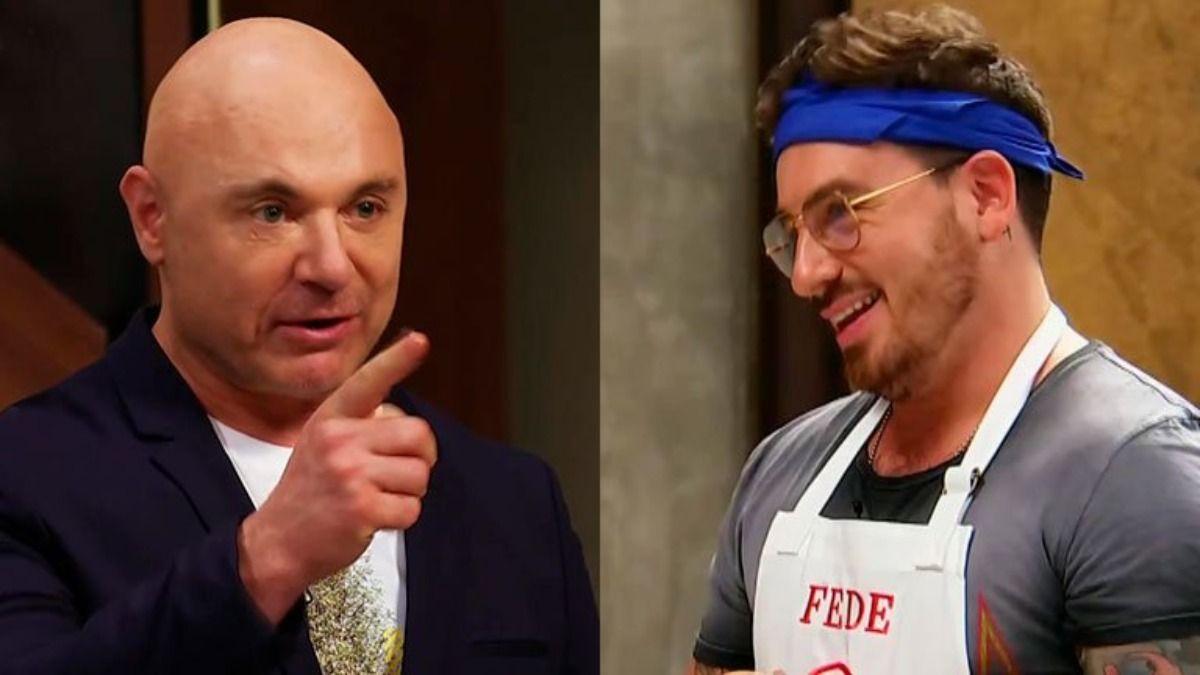 Germán Martitegui y Fede Bal volvieron a enfrentarse en las cocinas de Masterchef Celebrity