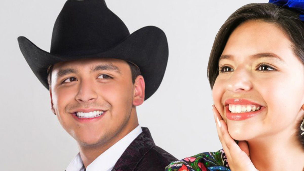 Christian Nodal y Ángela Aguilar