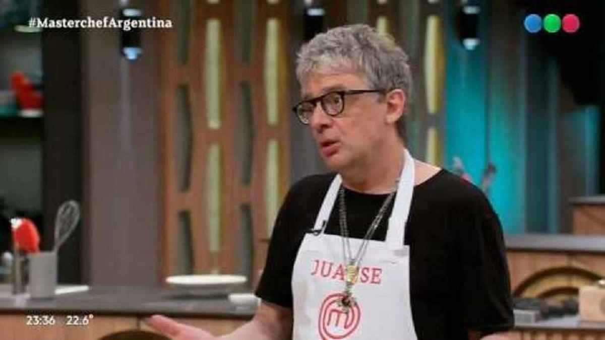 Masterchef Celebrity: Juanse desafió al jurado antes de su eliminación