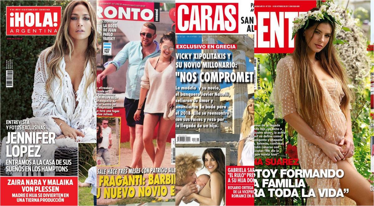 Tapas de amores: Barbi Vélez y nuevo novio; Xipolitakis comprometida en Grecia y la china embarazada