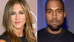 Jennifer Aniston pidió que no voten por Kanye West y el rapero le contestó