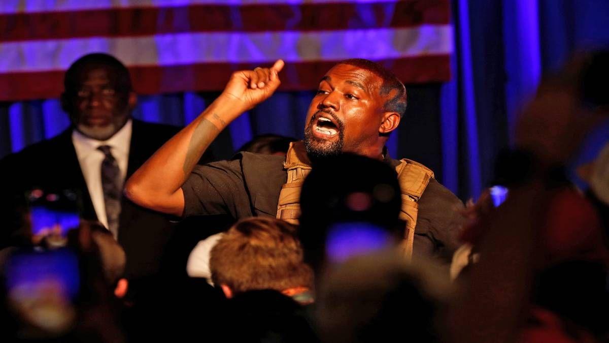 ¡No se rinde! Kanye West ya anuncia su candidatura para 2024
