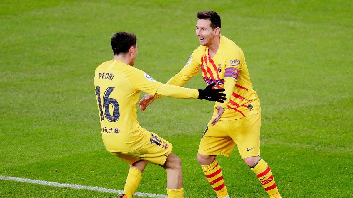 ¡Toda de él! Lionel Messi brilló y Ronald Koeman lo reconoció