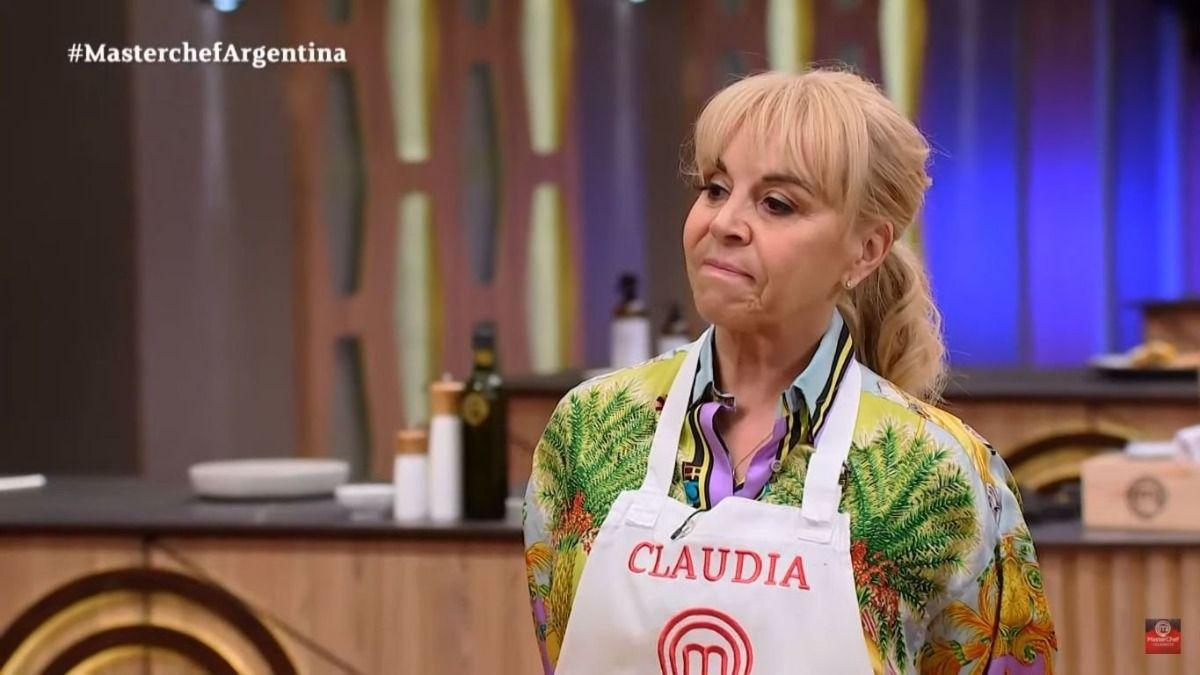 Claudia Villafañe y Santiago del Moro vivieron un incomodo momento en Masterchef Celebrity Argentina