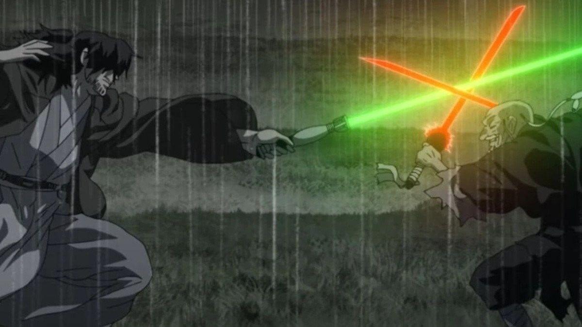 Esta es una de las imágenes que Disney reveló para presentar su nuevo proyecto Star Wars Vision