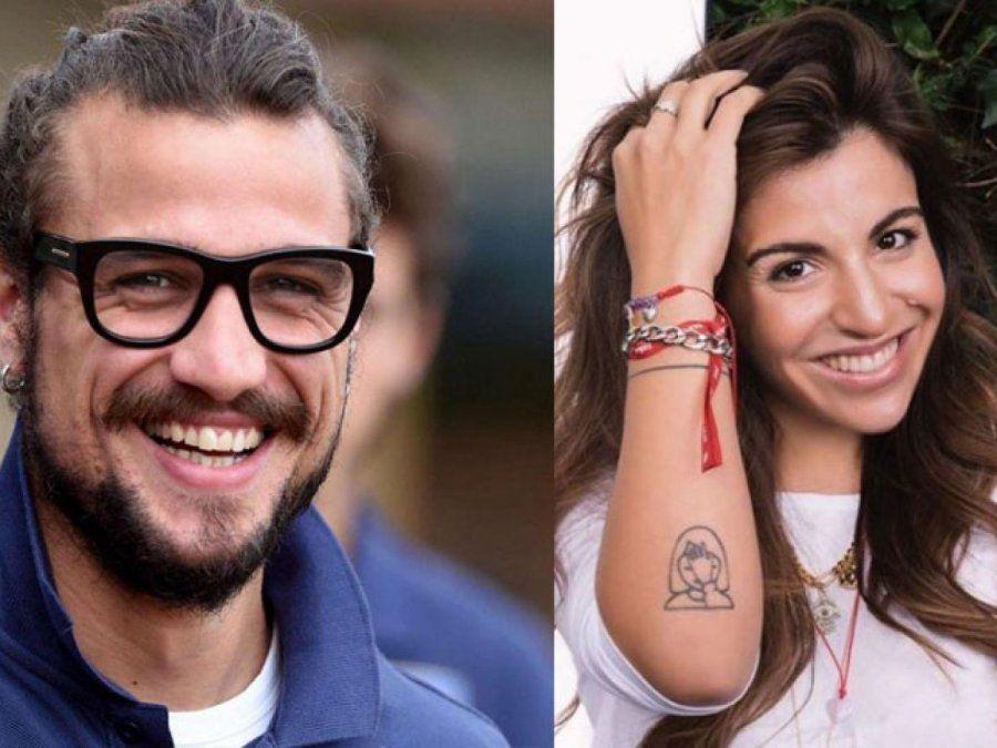 Gianinna Maradona y Daniel Osvaldo a puro fuego en el sur con familiares y amigos.