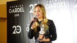 Karina ganó el premio a la más clickeada