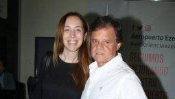 Quique Sacco, muy enamorado de Mariu Vidal