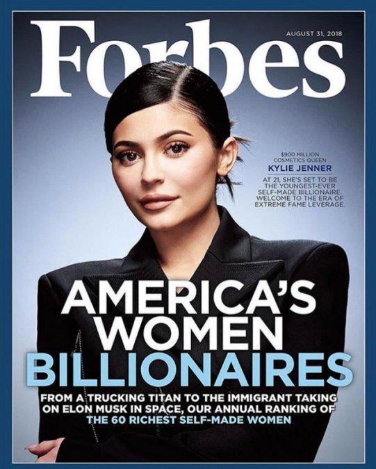 Kylie Jenner en la revista Forbes