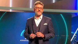 El periodista Luis Novaresio estará frente a Animales sueltos hasta el próximo 23 de diciembre