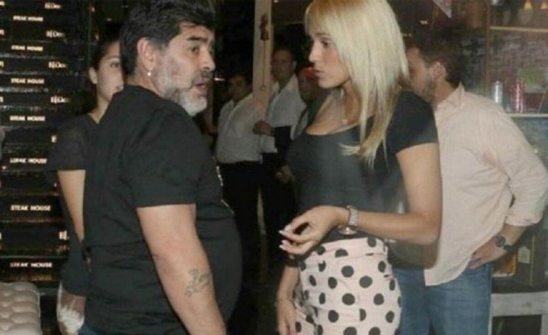 Rocío Oliva volvió a hablar de Maradona