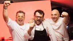 Donato De Santis, Christophe Krywonis y Germán Martitegui serán los jurados del Masterchef Celebrity de Telefé