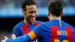 ¡Sorpresa! Lionel Messi y Neymar juntos, pero en el Barcelona