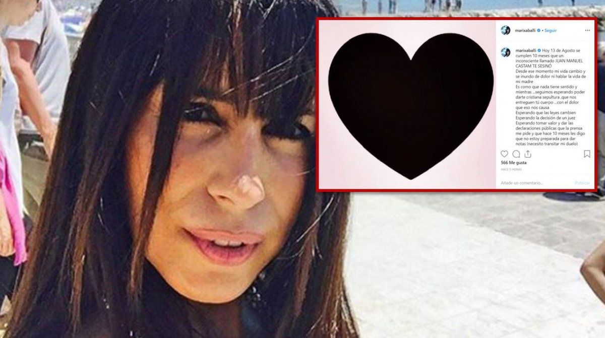 Marixa Balli está desesperada: hace diez meses mataron a su hermano y no le entregan el cuerpo