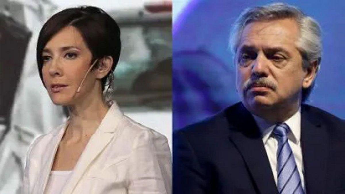 Vine a terminar con los odiadores seriales: Cristina Pérez y el argumento en contra de Alberto Fernández
