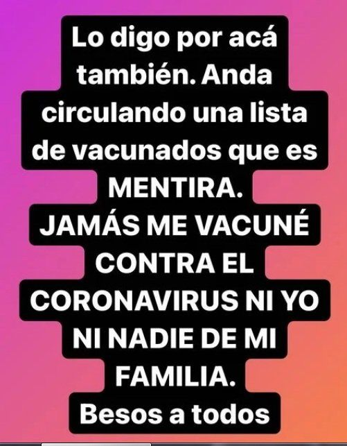 Marcelo Tinelli desmintió ser uno de los vacunados VIP