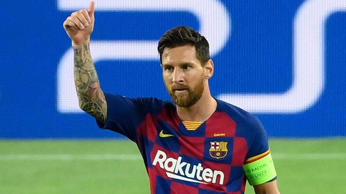 El jugador argentino Lionel Messi ya es libre para negociar con otros clubes