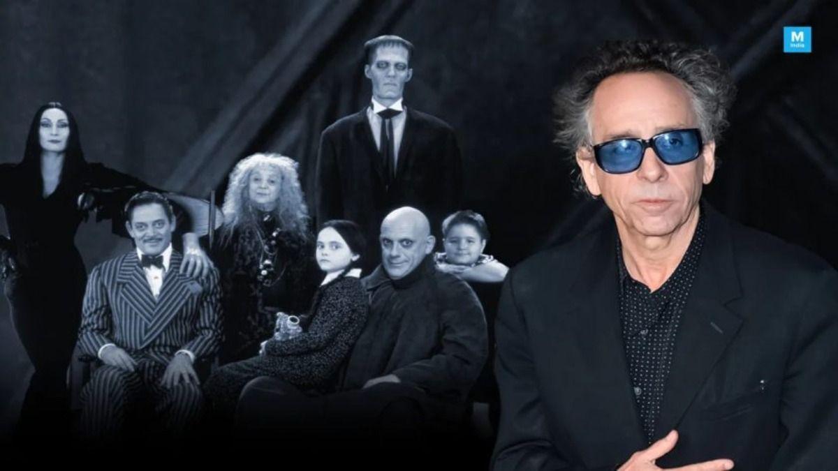 Tim Burton produce y dirige la nueva serie de Los Locos Adams en Netflix