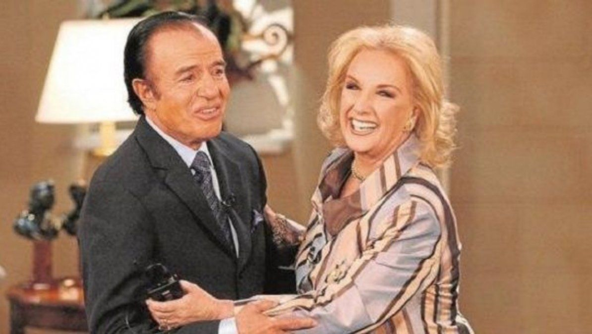 Mirtha Legrand sobre la muerte de Carlos Menem: Para él todo honor y toda gloria