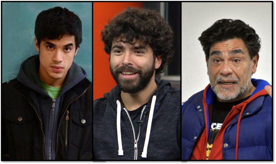 Presentaron a los tres Maradona que lo interpretarán en una serie: ¿quién es cada uno?