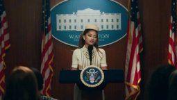 ¡Ariana Grande es la nueva presidenta de EEUU!