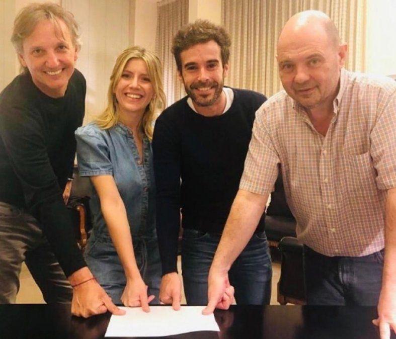 Nicolás Cabré y Laurita Fernández harán temporada en Mar del Plata con la exitosa Departamento de Soltero