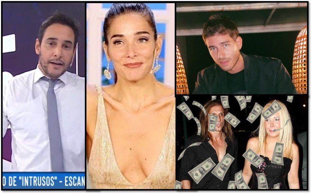 Escandalones: Nannis-Caniggia pelean por 3 millones de dólares; el insólito blooper de Juanita Viale y más famosos violan la cuarentena