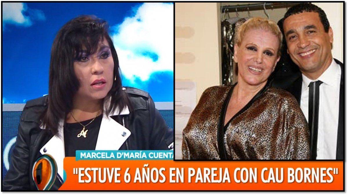 Marcela DMaría, la mujer que tiene una relación con Cau desde hace seis años : Es muy pasional y me decía que se sentía solo