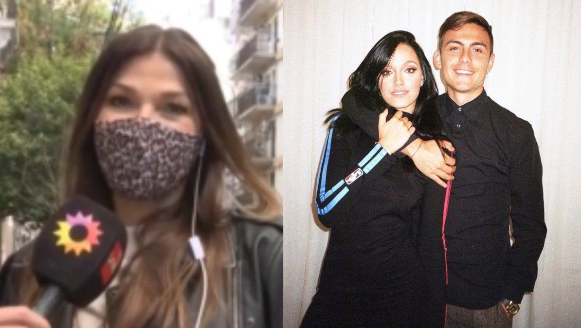 Catherine Fulop habló de los rumores de infidelidad de Paulo Dybala a Oriana Sabatini