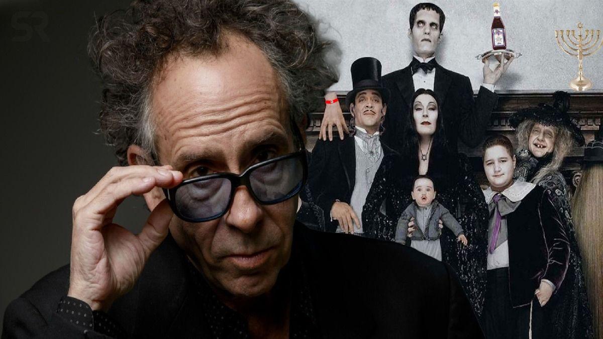 Tim Burton dirigió las dos películas de Los Locos Addams